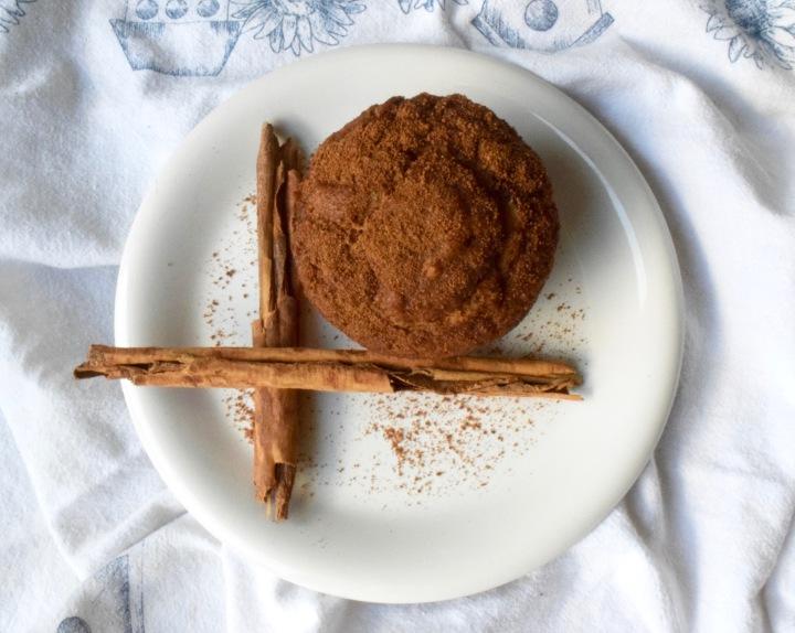 Gluten-free Cinnamon SugarMuffins