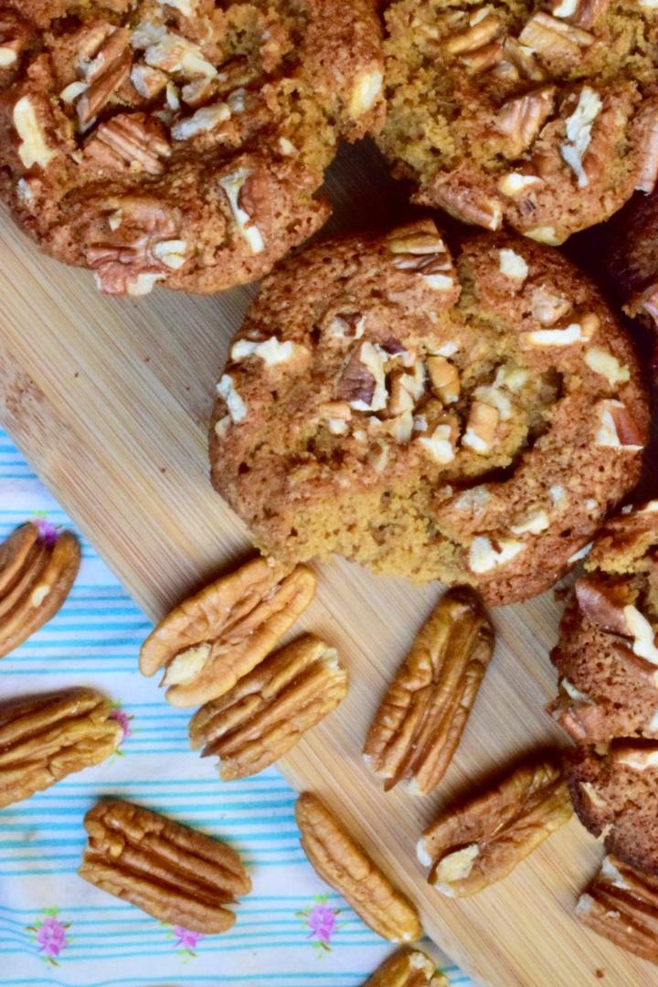Gluten-free Pecan PieMuffins