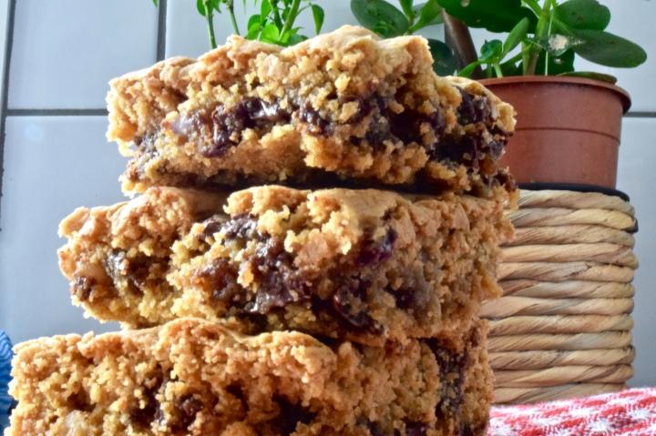 Gluten-free Chocolate Chip CookieBars