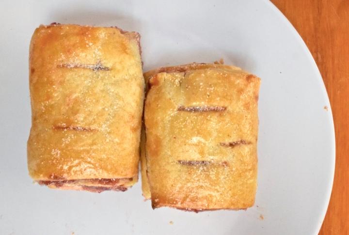 Easy Gluten-free Mini RaspberryStrudels