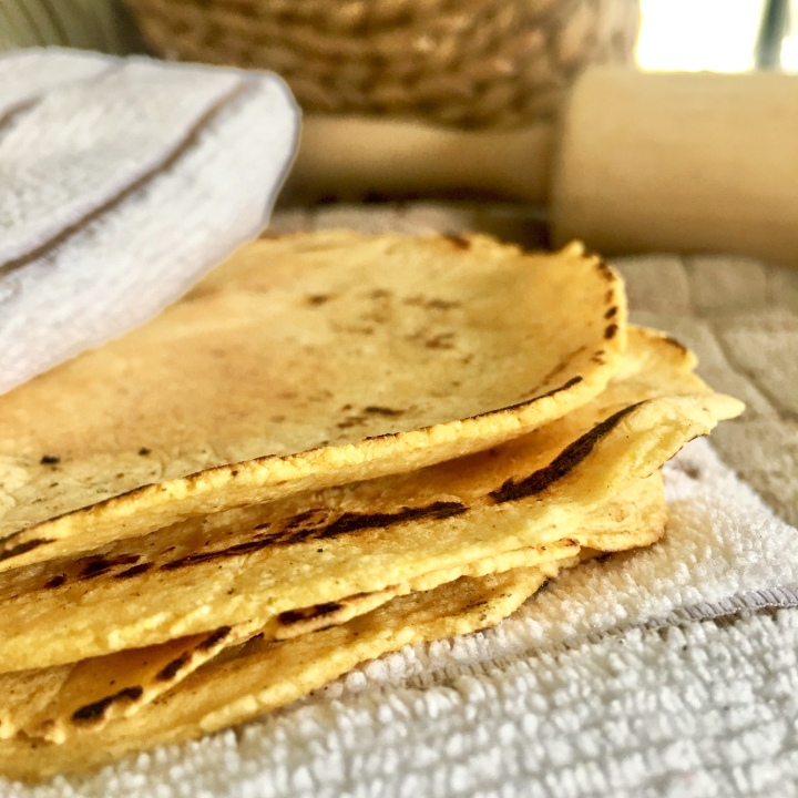 Mexican Yellow Corn Tortillas | Gluten-free, Vegan