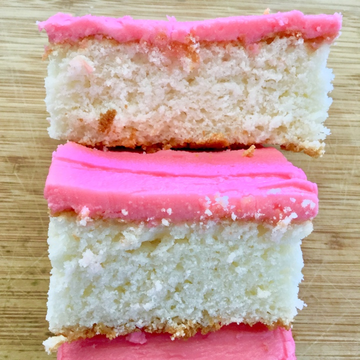 """Mexican Panadería-Style """"Pink Cake"""" 