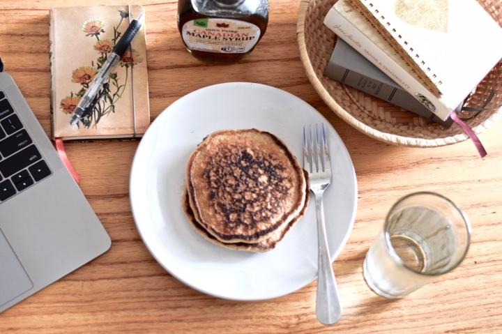 Cinnamon Brown Sugar Pancakes | Gluten-free,Dairy-free